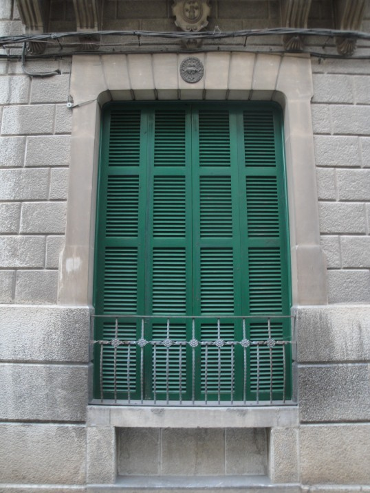 More green shutters